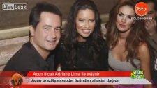 Acun Ilıcalı ile Adriana Lima Aşkı Azeri TV'de Yayınlandı!