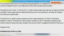 Fenerbahçeden Saadettin Sarana Sert Tepki