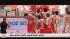 Galatasaray Olimpiyakos Basket Maçında Yumruk Yumruğa Kavga