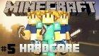 Minecraft Hardcore Survival - Evi Adam Etme - Bölüm 5