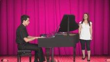 Piyano Azeri Türkü Yalnızım Yalnız Solist: Ferda Bolcal Azerbeycan Yalgızam Yalgız Azeri  Şarkı Full