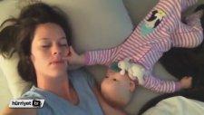 Bir Türlü Uyumayan Bebek Annesine Neler Etti Neler