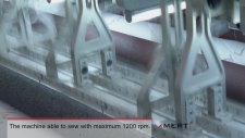 MMS 12000 Çok İğneli Zincir Dikiş Kapitone Makinası