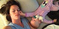 Sevimli Bebeğin Uyumaya Çalışan Annesine İnanılmaz Eziyeti