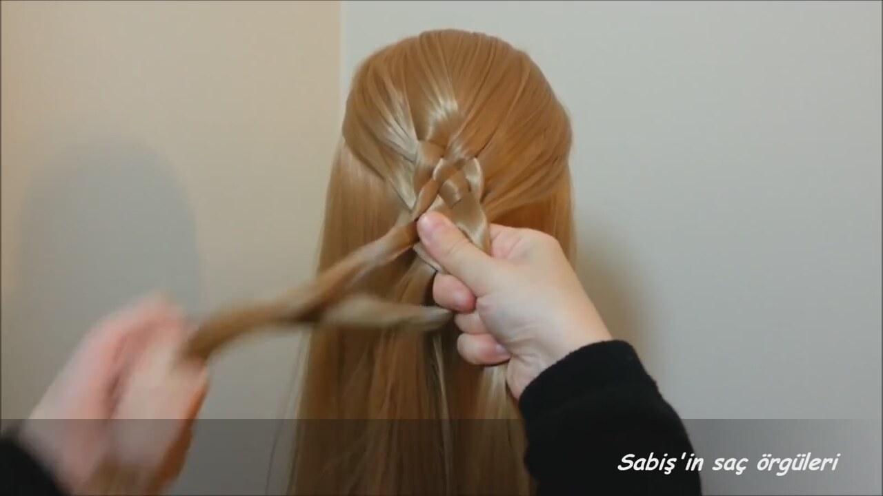 5li Saç Örgüsü Nasıl Yapılır