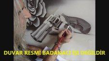 Duvar Resim Sanatı Dövme Salonu Duvar Ressamı