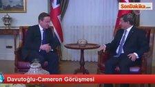 Davutoğlu-Cameron Görüşmesi