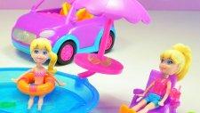 Polly Pocket Havuzda Güzel Bir Gün - Evcilik TV