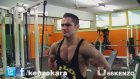 Natural Bodybuilder Kenzo Karagöz - Gym Posing & Flexing - Kenzo Karagöz