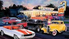 Araba Duvar Resimleri ClassicCar