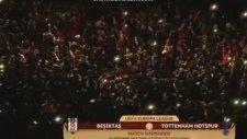 Beşiktaş - Tottenham Maçında Elektrikler Kesilince Müthiş Görüntüler Ortaya Çıktı