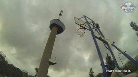 98 Metreden Basket Atmak