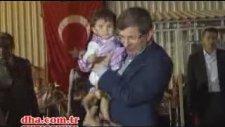 Davutoğlu`nun Slogan Atması - Vay Vay Vay