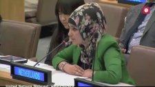 Türbanlı Türk Kızının BMde Hollandayı Temsil Etmesi