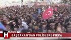 Başbakan Erdoğan'ın Polislere Fırça Atması