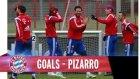 Claudio Pizarro Antrenmanda Coştu Müthiş Goller