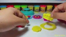 Play-Doh Oyun Hamuru Şeker Kavanozu  İle Renkli Kurabiye Yapımı