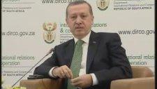 Recep Tayyip Erdoğan - İsrailli Katibe Atom Bombası Cevabı