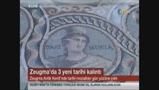 2000 Yıllık Mozaiklerin Üzerine Basan Bakan Fatma Şahin