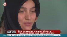 Başbakan Erdoğan'a Kendi Bileziklerini Veren Kız