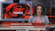 CNN Türk Canlı Yayında Deprem