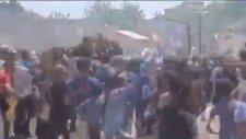 Diyarbakır Hava Kuvvetlerindeki Türk Bayrağının İndirilmesi