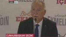 Ekmeleddin İhsanoğlu'nun Ayar Dolu Konuşması - Hatay