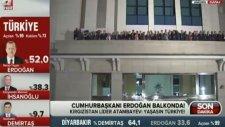 Kırgızistan Devlet Başkanı Atambayev'in Seçim Sonrası Balkon Konuşması