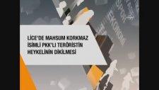 Lice'de PKK'lı Heykelinin Dikilmesi Hakkında Ne Düşünüyorsunuz - Ropörtaj