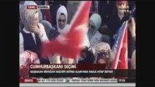 Recep Tayyip Erdoğanın Elini Tutunca Ayılan Kadın