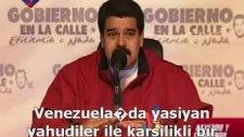 Venezuela Devlet Başkanı Maduronun Dünyaya Filistin Mesajı