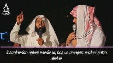 Lokman Suresi 6-7  Mansur Al Salimi - Boş Ve Eğlencelik Sözleri Satın Alanların Durumu