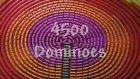 4500 Domino Taşıyla Muhteşem Bir Görsel Şölen