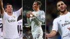 Real Madrid'in Yıldızlarından Futbol Dersi
