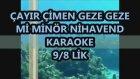 Çayır Çimen Mi Minör Nihavend Karaoke Md Altyapısı Şarkı Sözleri