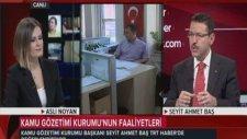 KGK Başkanı Sn. Seyit Ahmet Baş TRTnin Konuğu