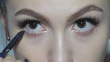 Mor Dudak & Klasik Kuyruklu Eyeliner