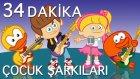 20 Çocuk Şarkısı - En Popüler Türkçe Çocuk Şarkıları Çizgi Film Çocuk Videoları