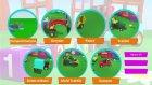 Çizgi Film - İş Makineler 3d Çocuk Parkında Arabalar Oyunları (Tüm Bölümler Bir Arada)