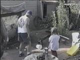 Bakın çocuğun yaptığına