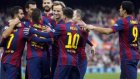 Barcelona 5-0 Cordoba (Maç Özeti)