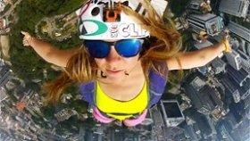 Wingsuit İle Adrenalin Dolu Atlayış