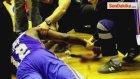 ABDli Basketbolcu; Tribün Camına Çarptı, Kolunu Kesti