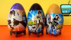 3 Sürpriz Yumurta Açımı! Ben 10 Sürpriz Yumurta Oyuncakları