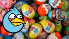 3 Sürpriz Yumurta Açımı! Nestle Toto Sürpriz Yumurtalar, Angry Birds Oyuncakları