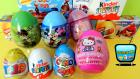 7 Sürpriz Yumurta Açımı! Mickey Mouse, Disney Prenses, Hello Kitty, Kinder Sürpriz Yumurtalar