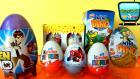 7 Sürpriz Yumurta! Örümcek Adam, Ben 10, Kinder Sürpriz, Mini Dino, Topi Sürpriz Yumurta Açımı