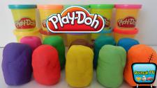 Oyun Hamurundan Sürpriz Yumurtalar 2! Play Doh Oyun Hamuru Kaplı 10 Farklı Oyuncak