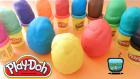 Oyun Hamurundan Sürpriz Yumurtalar! Sünger Bob, Cars 2 Arabaları, Şirinler, Hello Kitty