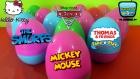 Renkli Sürpriz Yumurtalar! Şirinler, Cars 2 Arabalar ve Sürpriz Oyuncaklar